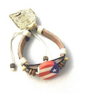 ❤️ 3 for $15 Puerto Rico Bracelet